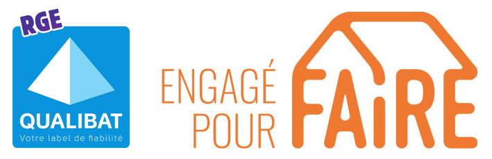 RGE Qualibat / Engagé Pour Faire
